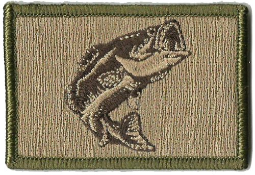 Tactical Wildlife Largemouth Bass Patch - Multitan