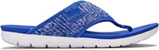 Fit Flop Womens Artknit Toe Thong Sandals in Blue.
