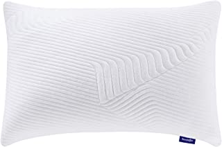 Sweetnight Queen Pillows for Sleeping , Gel Memory Foam Pillows for All Sleepers with Adjustable Loft to Neck Pain Relief,...