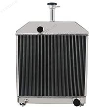 STAYCOO 4 Row All Aluminum Tractor Radiator for Ford 445D 455 455C 555C 555D 565D 655C E7NN8005DA