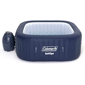 Coleman 90454 SaluSpa Hawaii AirJet 4-Person 71 x 26 Inch Portable Inflatable Square Outdoor Spa Hot Tub