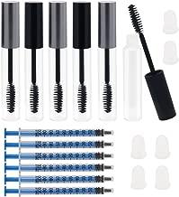 Shintop 6PCS 10ml Empty Mascara Tube with Eyelash Wand Applicators Eyelash Cream..