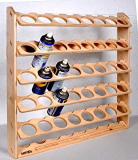 40 Can Spray Paint or Lube Can Wall Mount Storage Holder Rack