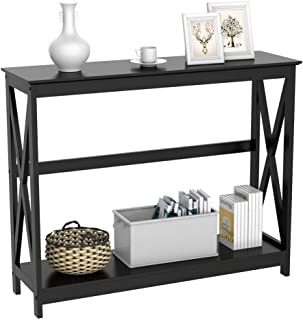 Amazon.com: Black - Tables / Living Room Furniture: Home ...