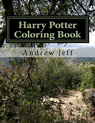 Harry Potter Coloring Book: Supernatural Places and Characters