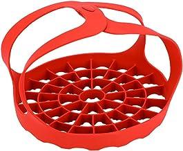 JUSTDOLIFE Steamer Basket Silicone Steamer Basket Vegetable Steamer Basket Cooking Steamer For Pressure Cooking Or Stove T...