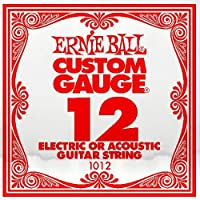 ERNIE BALL エレキギター弦 バラ弦 1012 .012 6本セット アーニーボール【国内正規品】