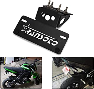 Motorsports Fender Eliminator Kit Compatible For Kawasaki Z125 Z 125 2015 2016 2017 2018 (BLACK)