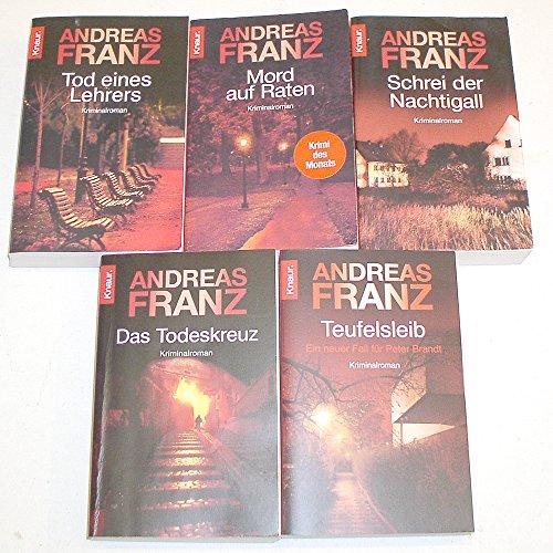 Peter Brandt -Reihe 1-5 komplett (Tod eines Lehrers - Mord auf Raten - Schrei einer Nachtigall - Das Todeskreuz - Teufelsleib) 1,2,3,4,5