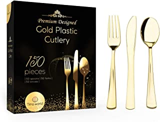 Best gold cutlery wholesale Reviews