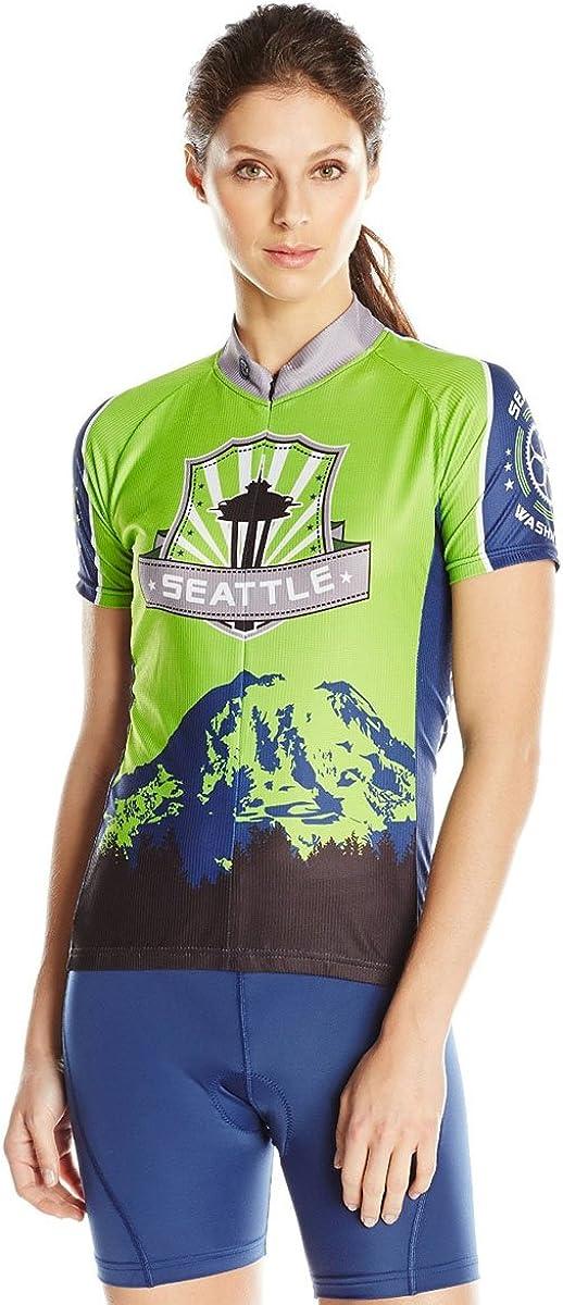 ◆高品質 CANARI Women's 売店 Souvenir Jersey Cycling Biking