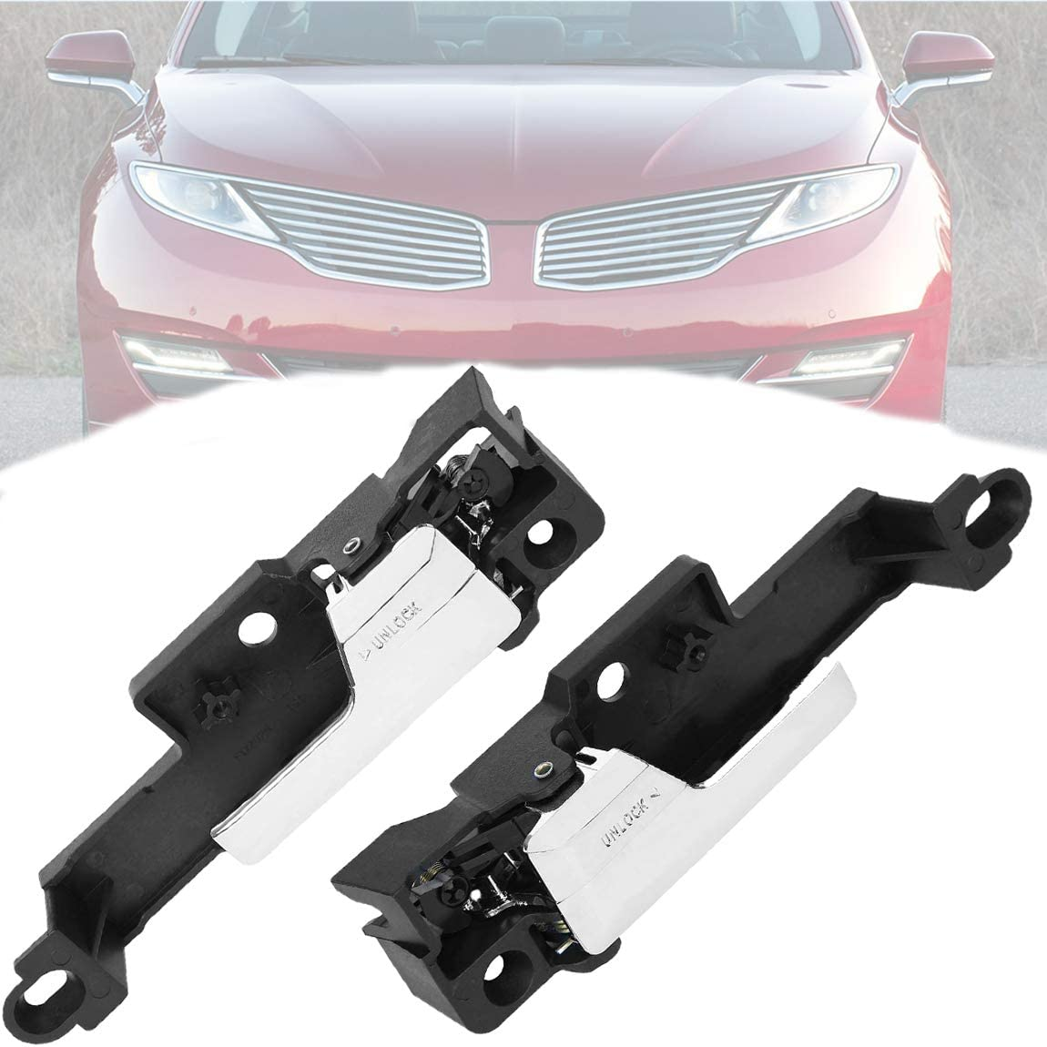Max Limited time sale 43% OFF 6E5Z5422601A Interior Door Handle Driver 1 Pa Passenger Side and