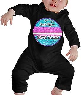 Simple Rick's Simple Wafer's Wafer Cookie Baby Onesie Organic Long-Sleeve Bodysuit