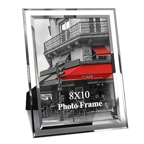 Giftgarden 10x8 Photo Frame Glass Picture Frames Portrait or Landscape Display