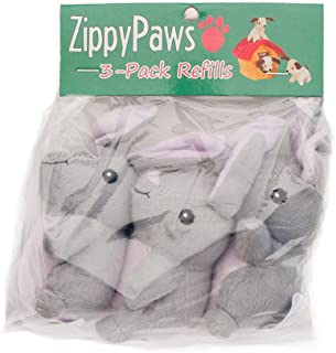 ZippyPaws Burrow Squeaky Bunnies Plush, Refill