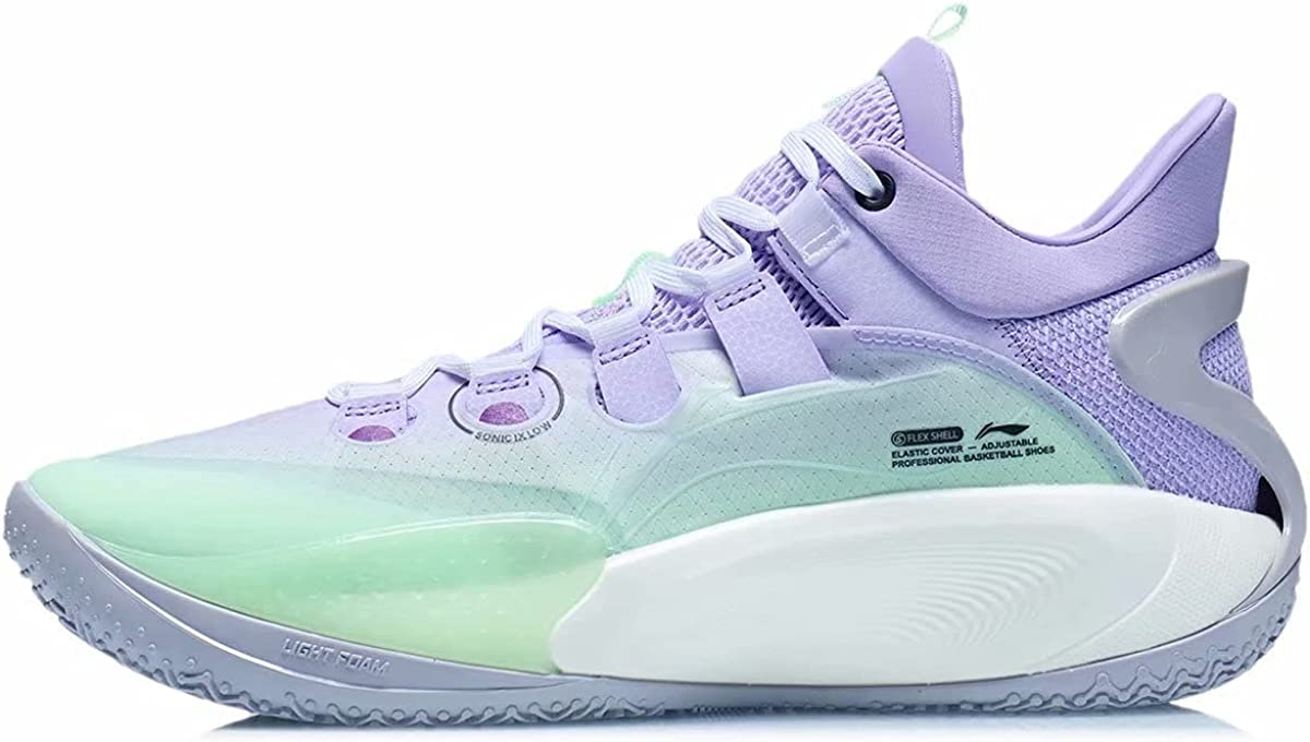 LI-NING Sonic Shipping included Ⅸ Professional Cheap mail order shopping On Basketball Court Shoes Light F