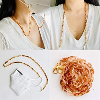 Libeauty Lanyard for Face Mask Chain with Clips Anti-Lost Mask Holder Beautiful Comfortable Around The Neck for Adults Kids