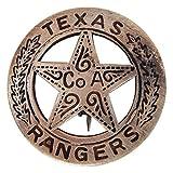 Brass Texas Ranger Badge