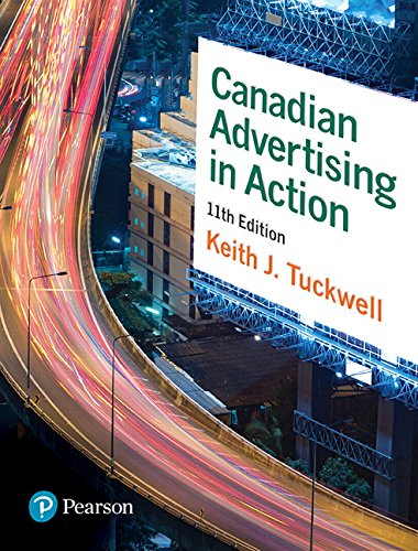 Canadian Advertising in Action, 11th Edition