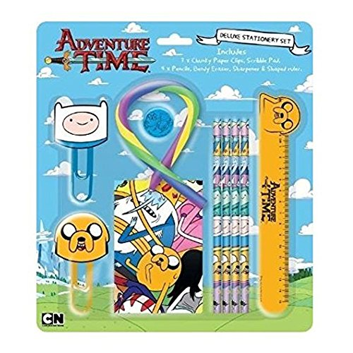 Anker Adventure Time Deluxe Stationery Set by