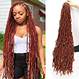 Eliza 36 Inch New Soft Locs Crochet Hair Braids 4...