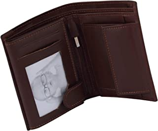 Men's Leather Wallet, Wallet for Boys, Cash and Card Holder, Card Case and Money organizer, Purse for boys, Cash and Card ...