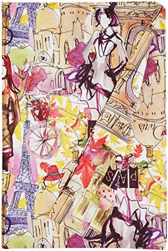 Martina Home Street Plaid Multiusage, Tissu, Multicolore, 250 x 270 cm