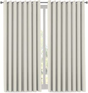 Extra Long and Wide Blackout Curtains, Thermal Insulated Premium Privacy Room Divider Window Treatment Drapes, 7' Tall by ...