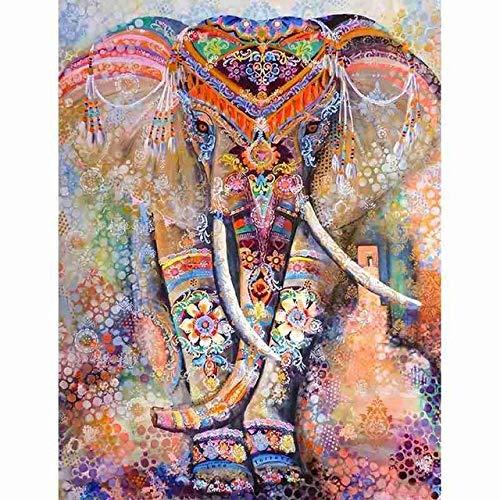 YYZZ Rompecabezas, 1000 Piezas Rompecabezas Juguetes educativos Mandala Elefante Educativo para niños Interactivo Adultos Regalo Juguete Rompecabezas Birthd