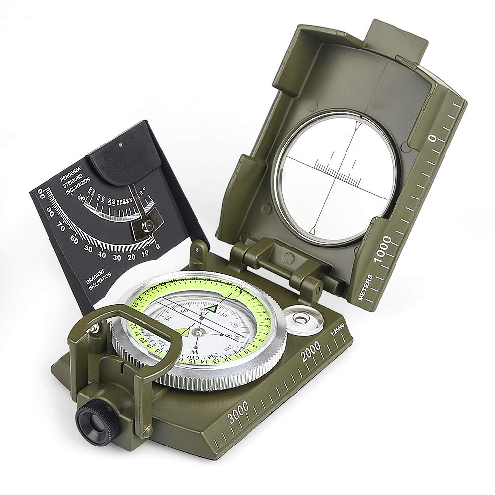 BIJIA Multifunctional Waterproof Clinometer Exploring