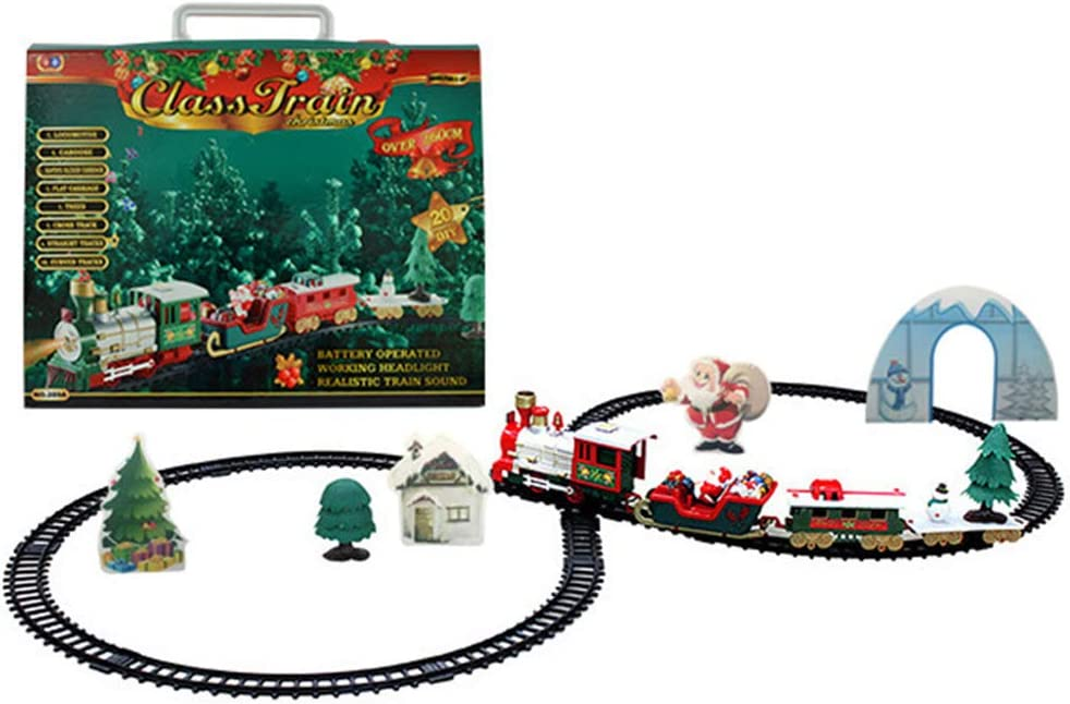 Jiecikou Christmas Electric Train DIY Assembly Mod Railway At the Max 68% OFF price of surprise