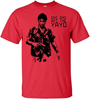 Mens Cool Chi Chi Get The YaYo Scarface Donnie Brasco Goodfellas T-Shirt Retro 90's Gangster Movie Funny Gift T-Shirt