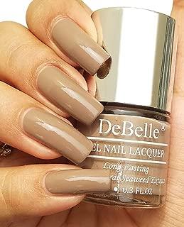 DeBelle Gel Nail Lacquer Coco Bean - 8 ml (Light Brown Nail Polish)