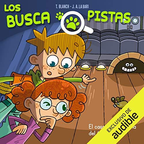 Diseño de la portada del título Buscapistas: El Caso Del Fantasma Del Teatro