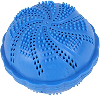 Hope Light Blue Fragrant Prevent knotting Silica gel wash wizard laundry ball Environmentally friendly recycling,For Clean clothing and protect clothes.