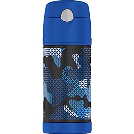 Thermos Funtainer 12 Ounce Bottle Black