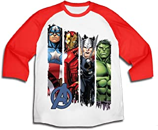 Boys Long Sleeve Tees - Spiderman, The Avengers, and Hulk Graphic tees