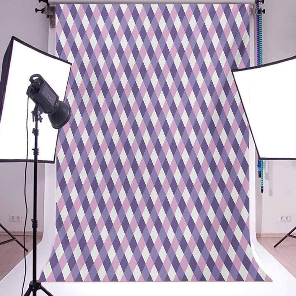 Kids 10x15 FT Photo Backdrops,Summertime Colors and Cute Toy Bunny with Flower Basket Cartoon Drawing Style Background for Photography Kids Adult Photo Booth Video Shoot Vinyl Studio Props