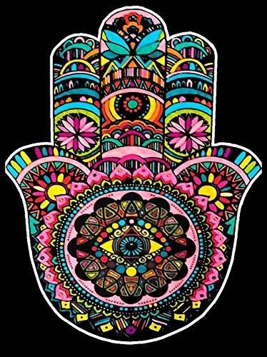 Terciopelo colorvelvet de 47x35 cm para colorear con caja de rotuladores - Mano e Fátima