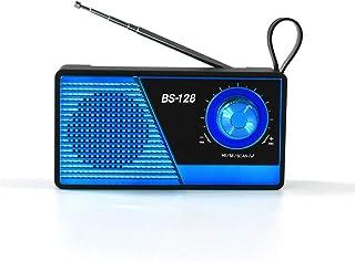 Radio Bluetooth Speaker New, Bluetooth Audio Mini Outdoor Bluetooth Speaker Collection Audio,Blue