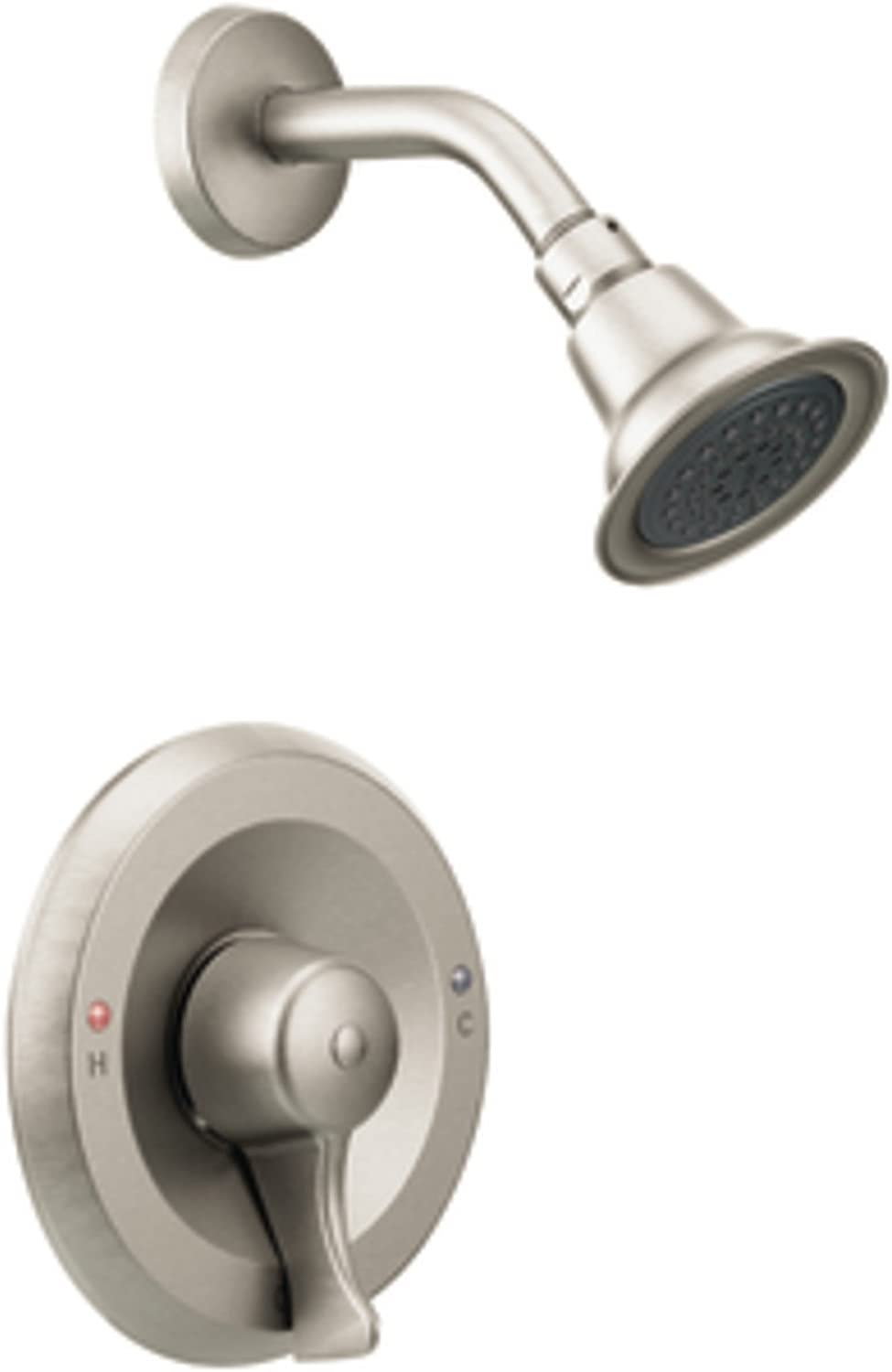 Moen T8375CBN Commercial M-Dura Posi-Temp Shower Trim, 2.5-gpm, Classic Brushed Nickel