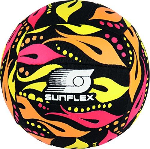 Sunflex Ball 3 Fireworks Orange Beach- UND FUNBALL Fireworks Gr. 3 aus Jersyprene Lite! Der Ball ist rund und die ganze Welt das Spielfeld.