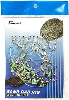 Sand Dab Rigs - #B - 10-hook - Two Packs Item # 497