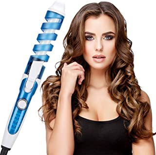 LONG Spiral Automatic Hair Curling Iron,Anti-Scalding Curling Iron,Ceramic Curling Iron