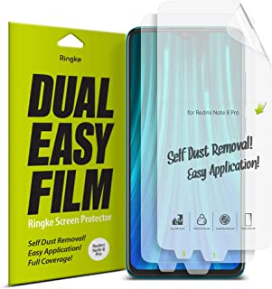 Ringke ESXI0003 Screen Protector For Xiaomi Redmi Note 8 Pro - Clear (Pack of 2)