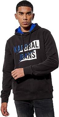 Kaporal - Sweat régular Noir Homme imprimé - Vlad - Homme