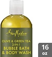 SheaMoisture Olive & green tea bubble bath & body wash, 16 Fluid Ounce