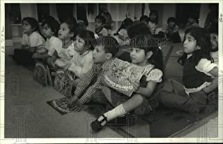 1982 Press Photo Preschoolers Attend Dental Program at Wesley Center, Houston