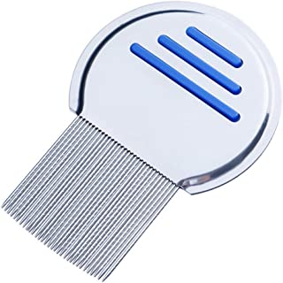 Professional Reusable Lice Comb for Kids Adults Lice Treatment Helix-Spiraled Nit Comb- Cepillo