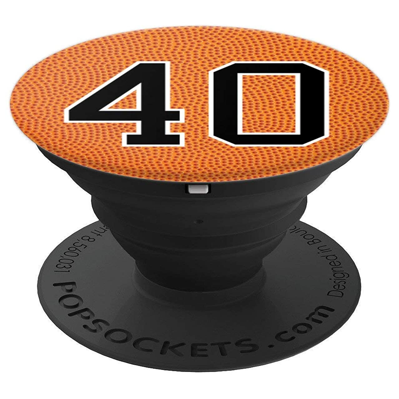 Basketball Number 40 Jersey Uniform Gift For Men Women - PopSockets Grip and Stand for Phones and Tablets